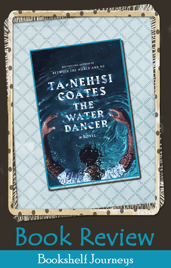 The Water Dancer book cover on art image