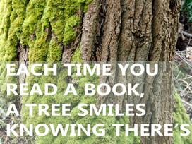 Quote: A tree smiles.....