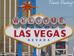 Welcome to Las Vegas sign photo by Terrie Purkey