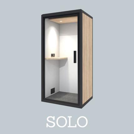 Cabine Acoustique Blabla Cube Solo 2021.