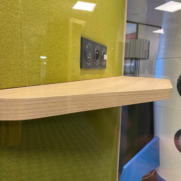 cabine Blabla Cube solo fabriquée en france