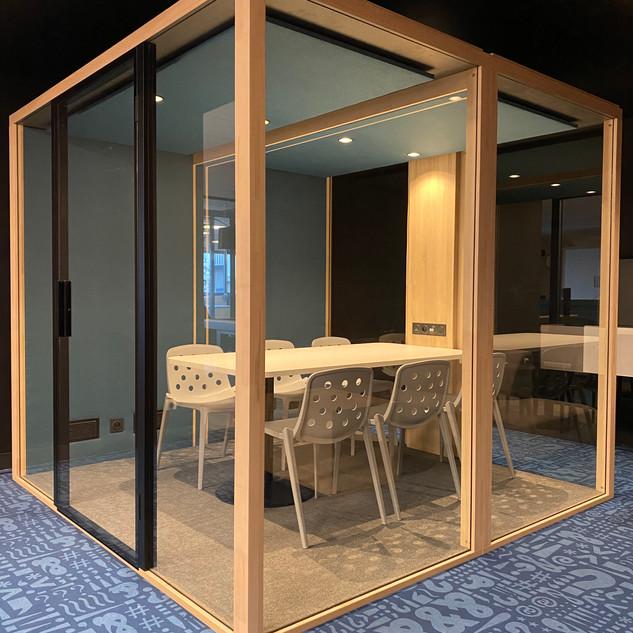 cabine Blabla Cube XL fabriquée en france