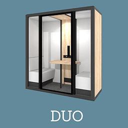 Cabine Acoustique Blabla Cube Duo 2021.J