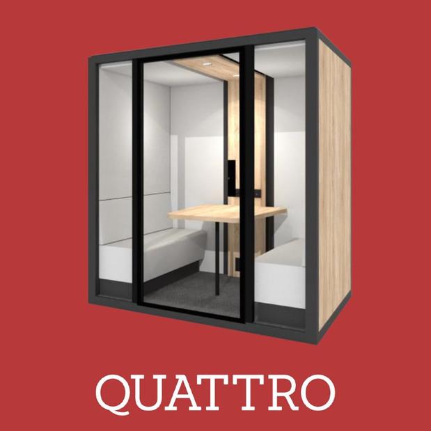 Cabine Acoustique Blabla Cube Quattro 20
