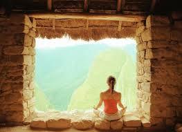 Machu Picchu window