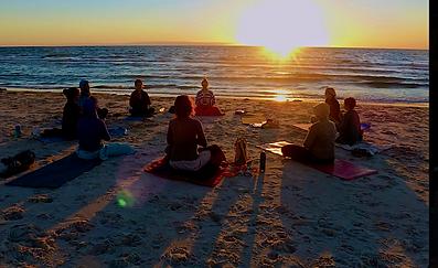 Peru Sacred Tours - Meditation in Mancora beach