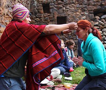 Peru Sacred Tours - Ceremony Don Wilson