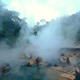 Peru Sacred Tours - The Boiling River