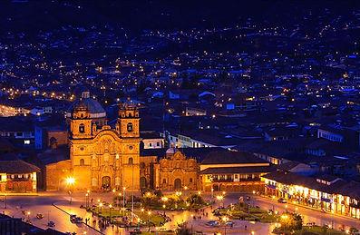 Peru Sacred Tours -  Cusco at night