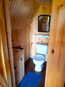 Cabin 1/2 bathroom