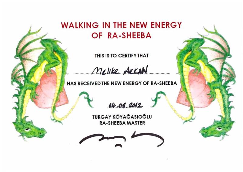 Walking in the Energy of Ra-Sheeba