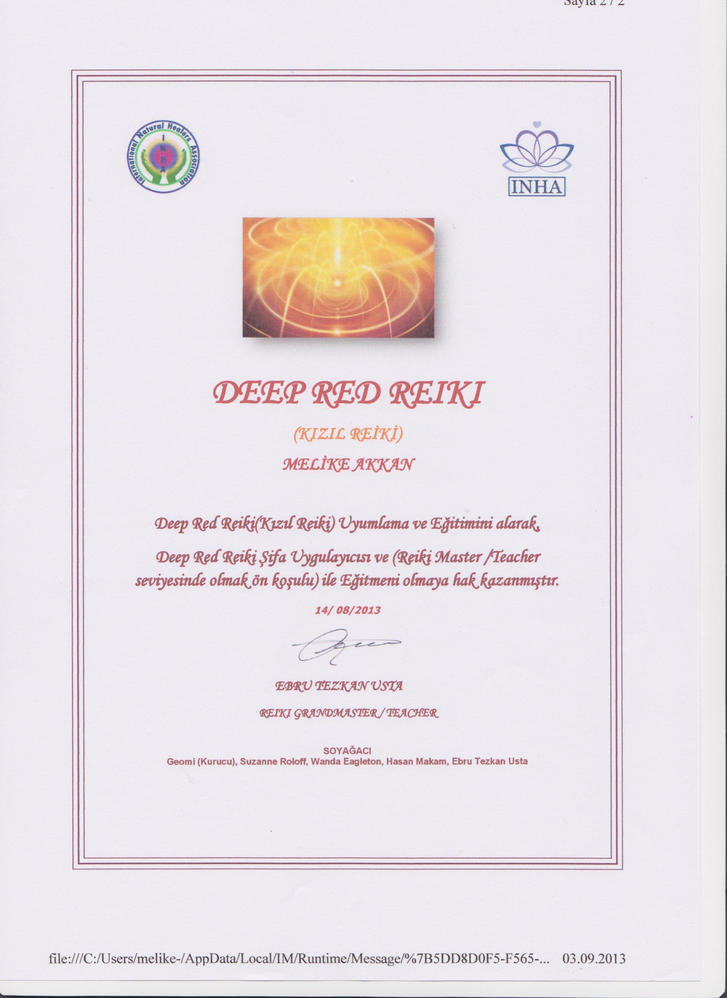 Deep Red Reiki