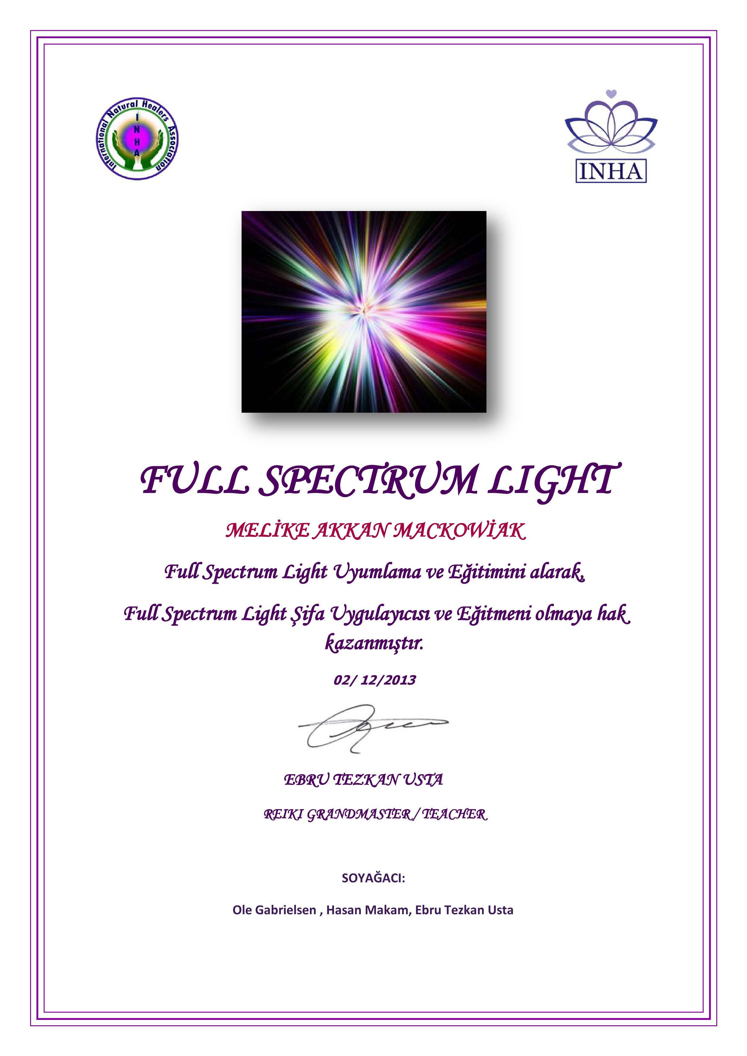 Full Spectrum Light