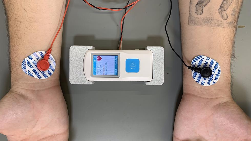 Adaptador de electrodos para ECGlove Home