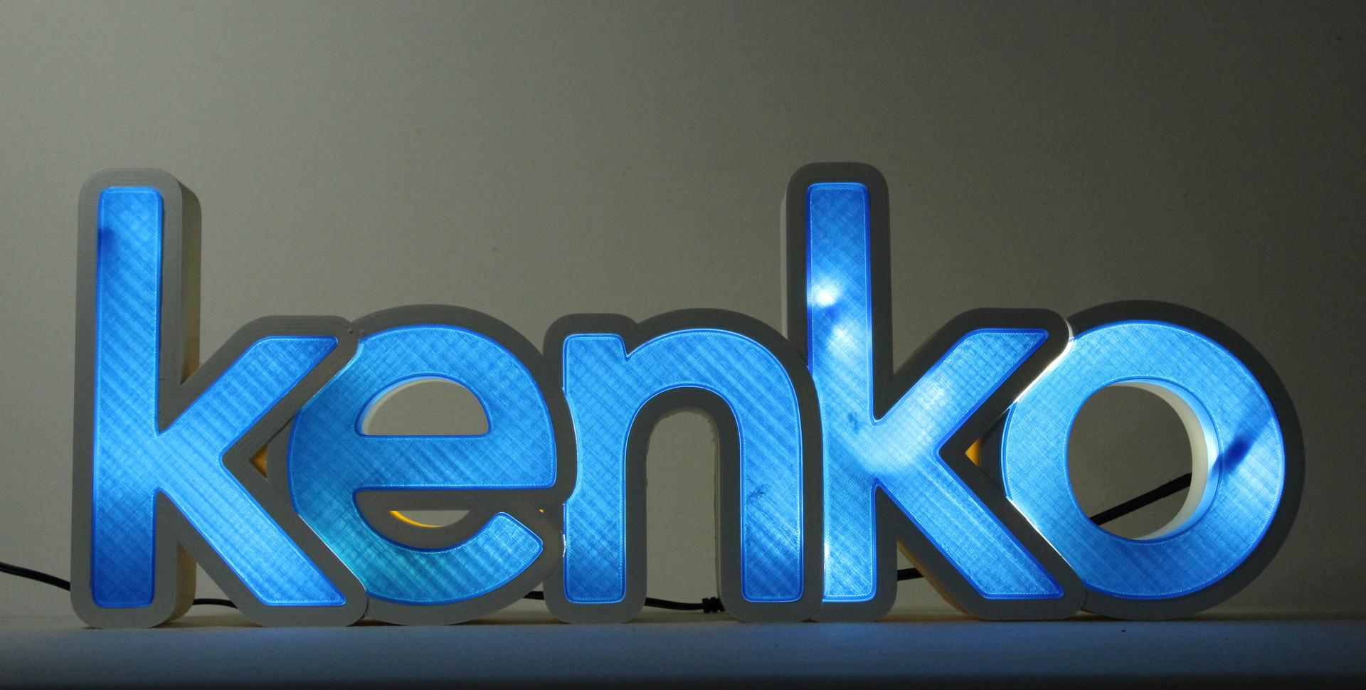 Letrero luminoso Kenko