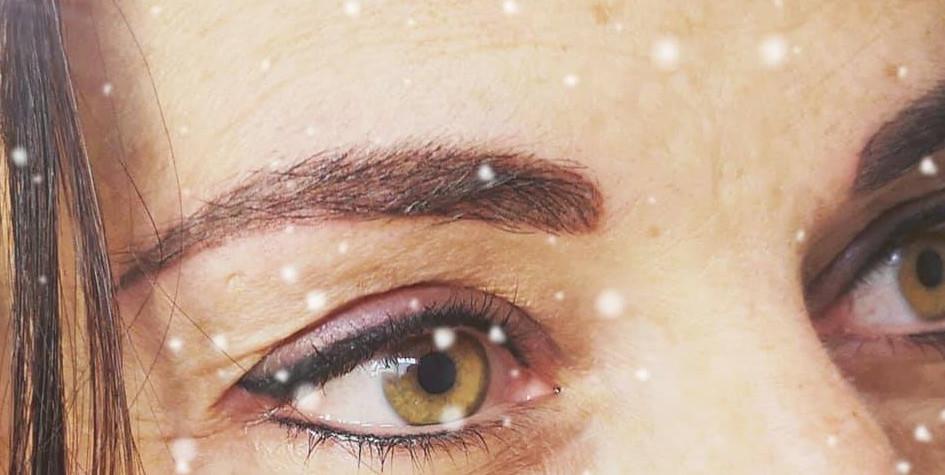 Eye linet supèrieur et ligne ciliaire infèrieure/ Ombrage sourcils