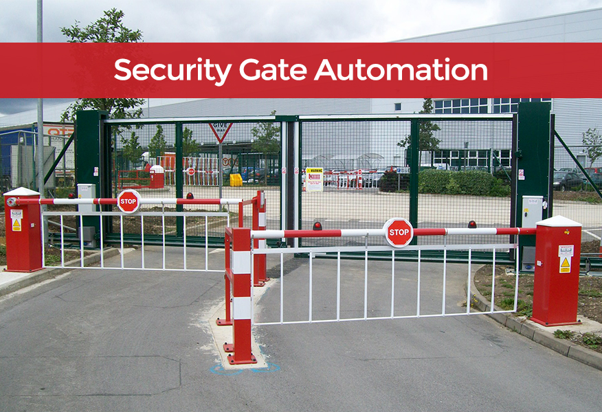Cadie Security Gate Automation