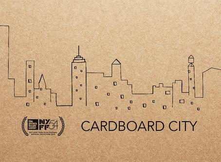 Cardboard City at NYFF54