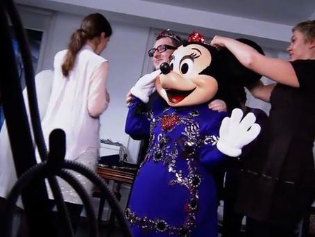 Minnie gets a new dress by Lanvin!