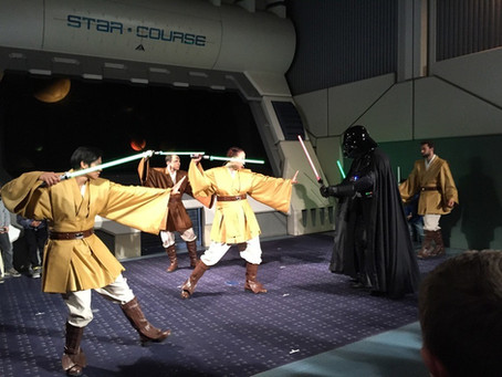 Jedi Training Academy at DLP - sneak preview!