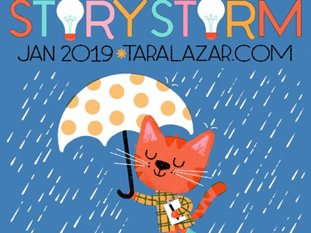 Get ready for StoryStorm 2019!