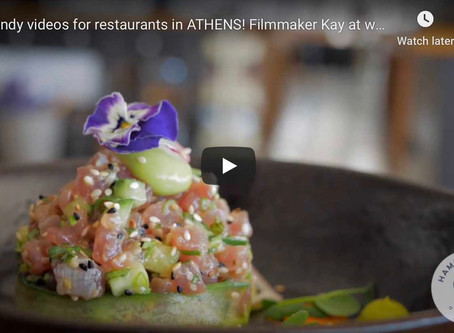 TRENDY videos for Athens bars and restaurants in 4K!