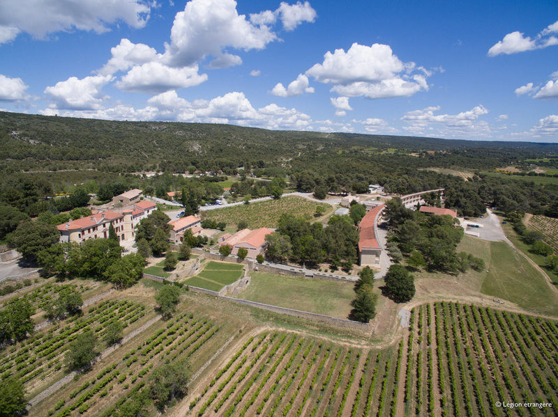 French Foreign Legion's Provence vineyard