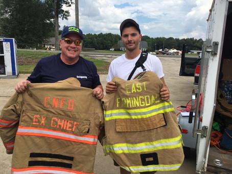 ENFD Donates Gear to Louisiana Flood Victims