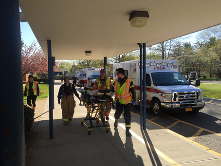 "ENFD Conducts Mass Casualty ""Active Shooter"" Drill"