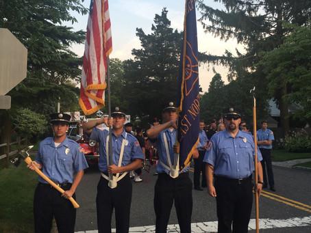 ENFD attends Annual Huntington Manor Parade