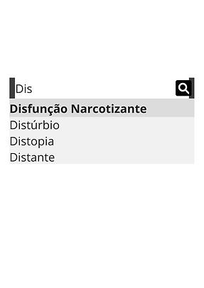 Disfunção Narcotizante Distúrbio Distopi
