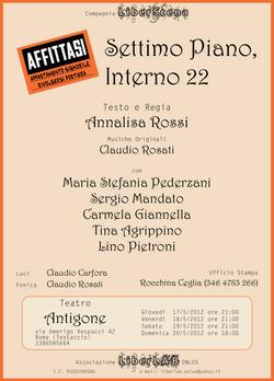 SETTIMO PIANO, INTERNO 22