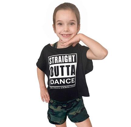 #16 Straight Outta Dance Crop