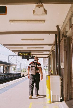 Newcastle Train Station -  March 2020-2.