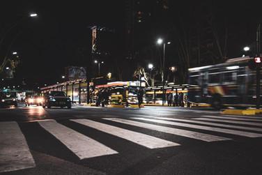 Night Street - Buenos Aires, Argentina