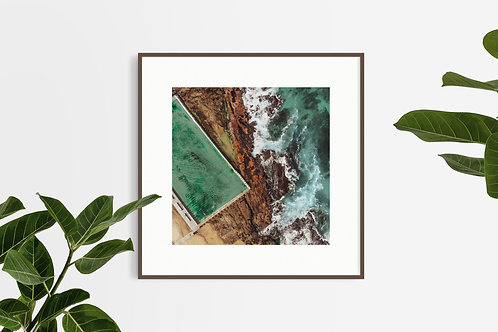 Verticale. Merewether Ocean Bath (Square Edition)