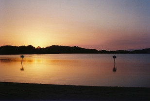 July 2020 - Sunset in Six-Fours - Analog