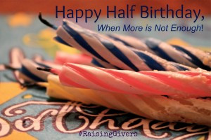 Happy Half Birthday: Book Update, Month Six