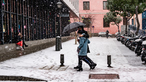 Filomena Storm in Madrid - Jan 2021