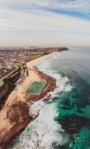 Vertical Panorama - Newcastle, Australia