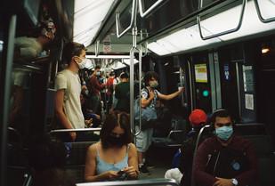 July 2020 - Paris - Train & Metro - Anal
