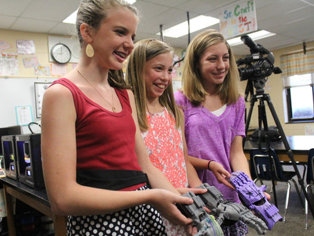 Strong Girls Can: Use STEM to Make a Difference