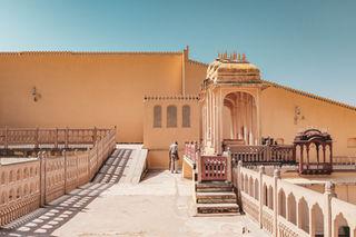 Guard - Hawa Mahal, India