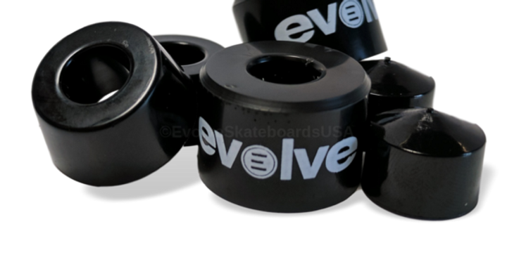 Evolve super carve bushings - Svart 95a