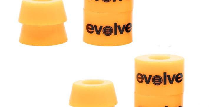 Evolve super carve bushings - Peach 90a