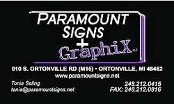 Paramount Signs & Graphix
