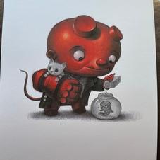 Hellboy, Will Terry Art