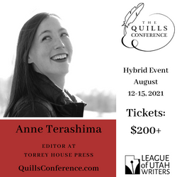 Anne Terashima, Torrey House Press