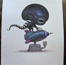 Alien, Will Terry Art