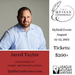 Jared Taylor, Gibbs Smith Education
